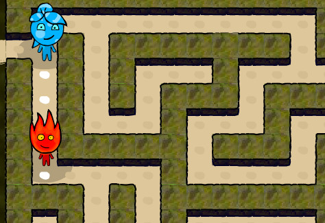 Fireboy and Watergirl Maze