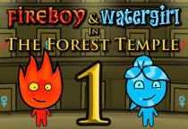 Niño fuego y niña agua 1