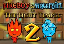 Niño fuego y niña agua 2